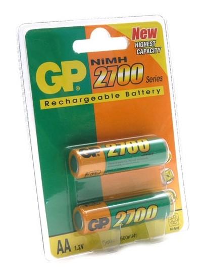 Аккумулятор GP 270AAHC-UC2 2700mAh AA 2шт