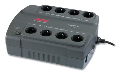 ИБП APC Back-UPS BE400-RS 240Вт 400ВА черный