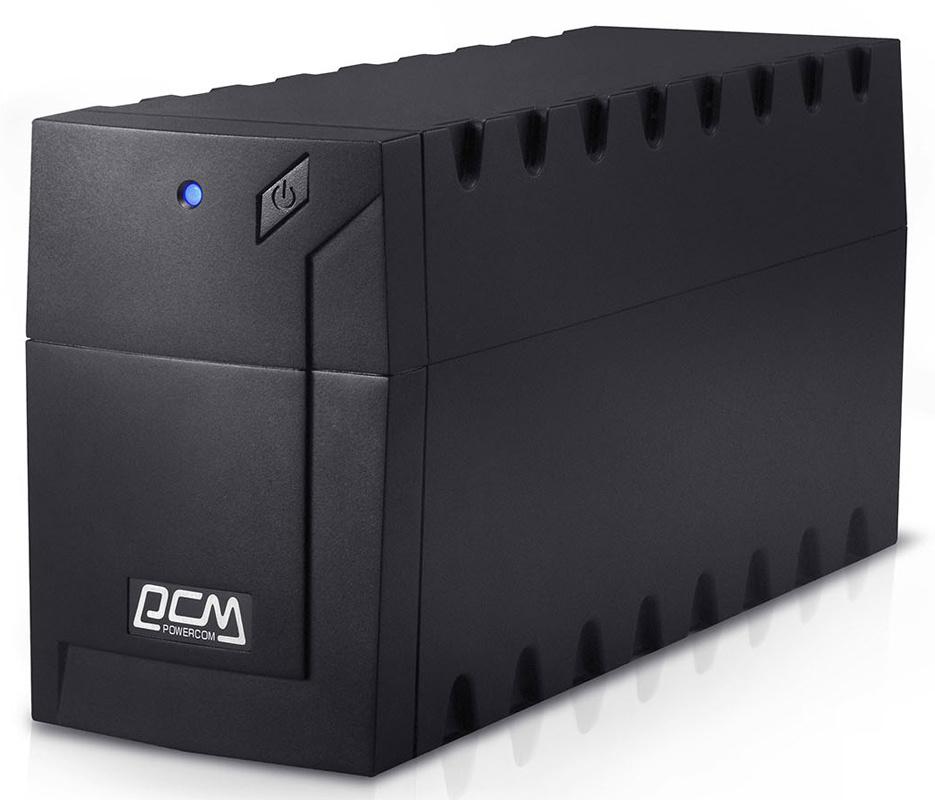 ИБП Powercom Raptor RPT-600A EURO 360Вт 600ВА черный