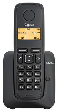 Р/Телефон Dect Gigaset A120 черный АОН