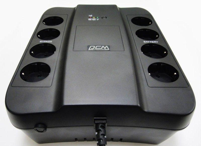 ИБП Powercom SPD-650U 390W черный