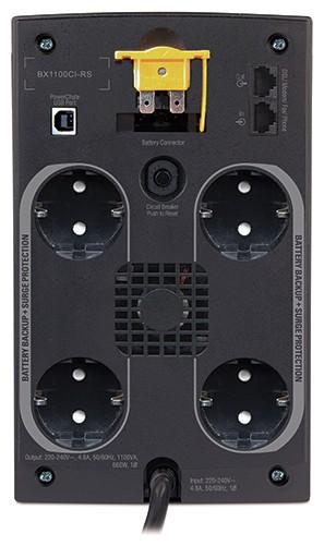 ИБП APC Back-UPS BX1100CI-RS 660Вт 1100ВА черный