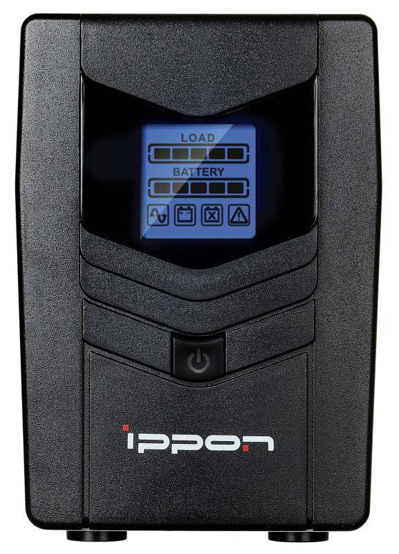 ИБП Ippon Back Power LCD Pro 600 360Вт 600ВА черный