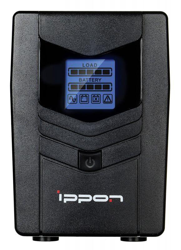 ИБП Ippon Back Power LCD Pro 800 480Вт 800ВА черный