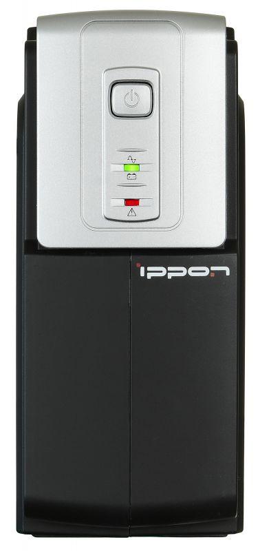 ИБП Ippon Back Office 400 200Вт 400ВА черный
