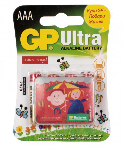 Батарейка GP Ultra 24AUGL-2CR4