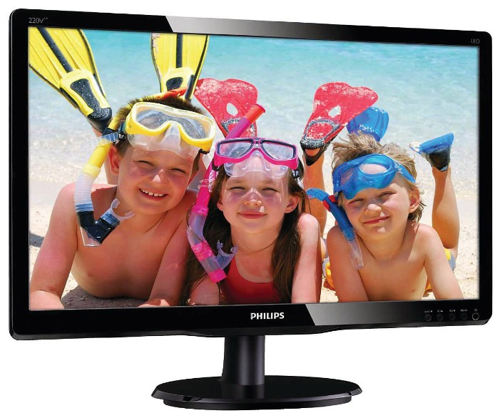"Монитор 22"" PHILIPS 220V4LSB"