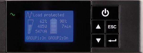 ИБП Eaton 5P 5P850iR 850VA черный