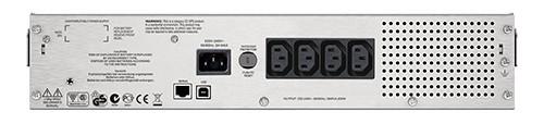 ИБП APC Smart-UPS C SMC1000I-2U 600Вт 1000ВА черный