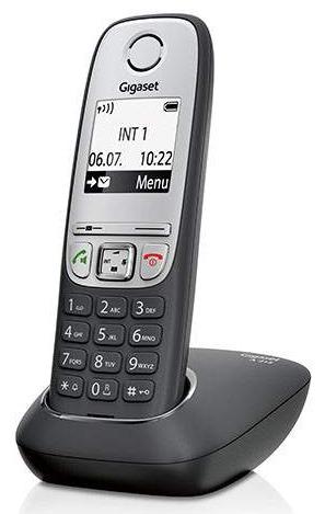Р/Телефон Dect Gigaset A415 черный АОН