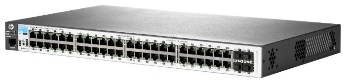 Коммутатор HPE Aruba 2530 J9772A 48G 4SFP 48PoE+ 382W
