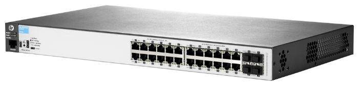 Коммутатор HPE Aruba 2530 J9779A 24x100Mb 2G 2SFP 24PoE+ 195W