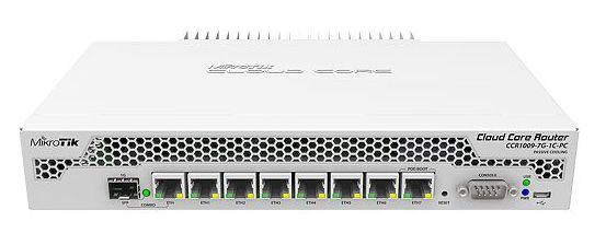 Роутер MikroTik CCR1009-7G-1C-PC 10/100/1000BASE-TX