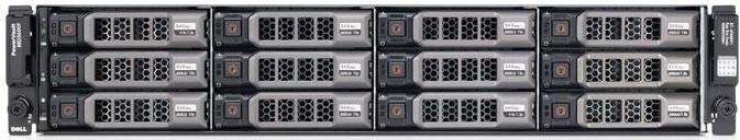 Дисковый массив Dell PV MD3400 x12 8x500Gb 7.2K 2.5in3.5 NL SAS 2x600W PNBD 3Y 2x2Ctrl 4Gb Cache (210-ACCG-43)