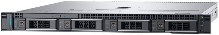 Сервер Dell PowerEdge R240 1xE-2224 1x8Gb x4 3.5