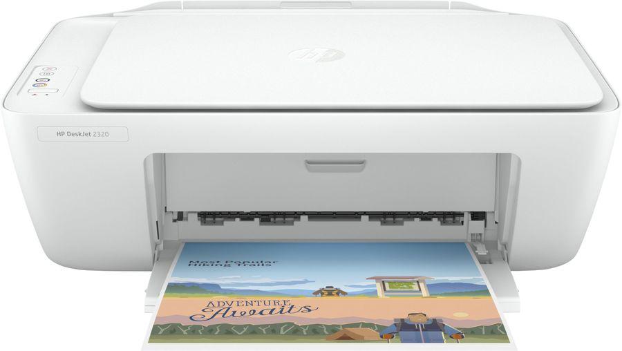 МФУ струйный HP DeskJet 2320 (7WN42B) A4 USB белый
