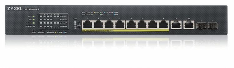Коммутатор Zyxel NebulaFlex XS1930-12HP-ZZ0101F 2SFP+ 375W управляемый