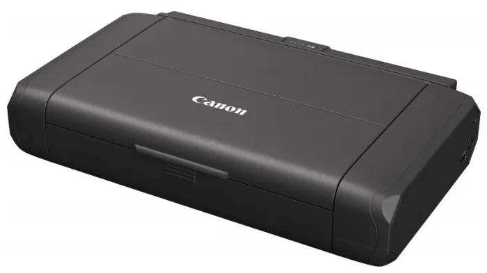 Принтер струйный Canon Pixma TR150 (4167C027) A4 WiFi USB черный (в комплекте: батерея)
