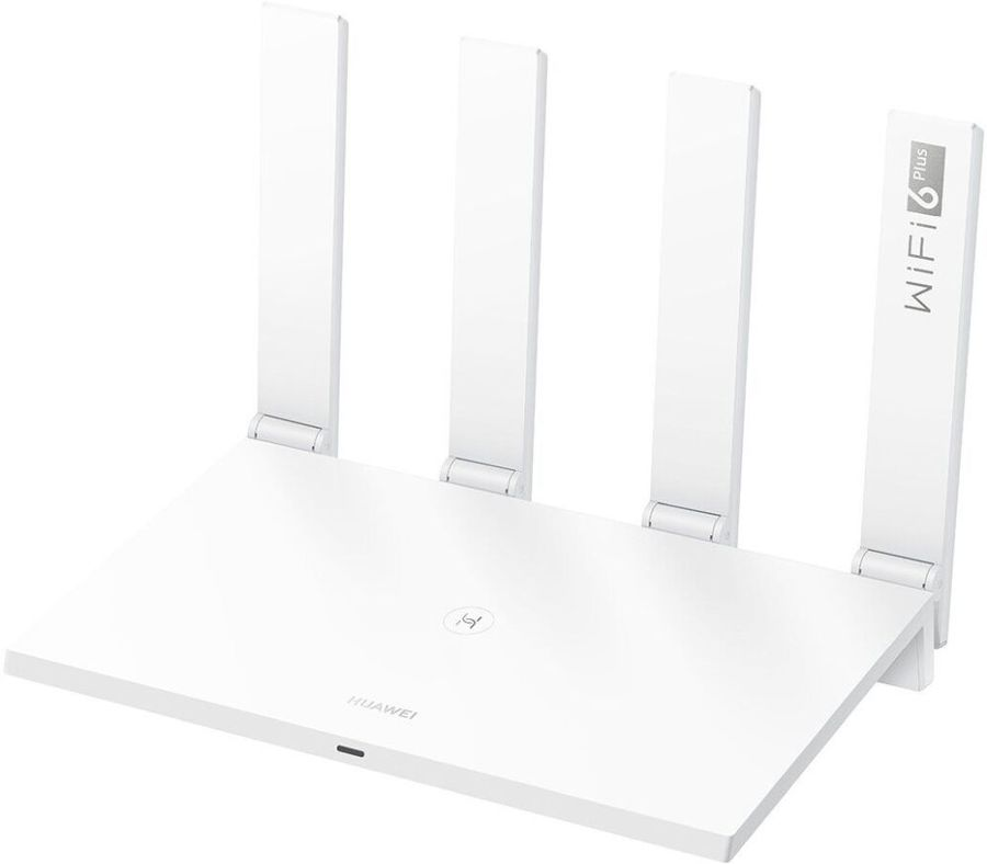 Роутер беспроводной Huawei WS7200 (AX3 QUAD-CORE) AX3000 10/100/1000BASE-TX белый