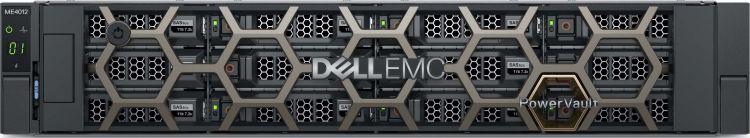 Система хранения Dell ME4012 x12 6x4Tb 7.2K 3.5 NL SAS 2x580W PNBD 3Y 2xCtrl CNC 4P/8XSFP, FC16, 16GB (210-AQIE-39)
