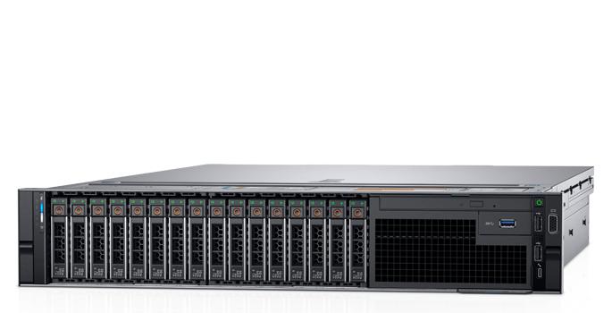 Сервер Dell PowerEdge R740 2x6134 2x32Gb x16 2x2.4Tb 10K 2.5