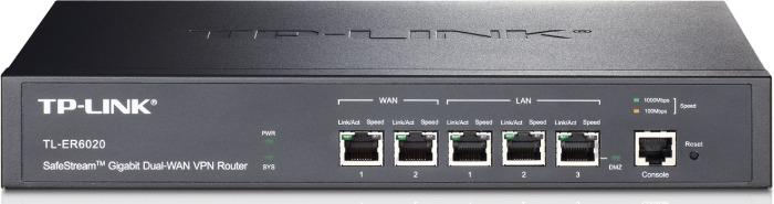 Роутер TP-Link SafeStream TL-ER6020 10/100/1000BASE-TX черный