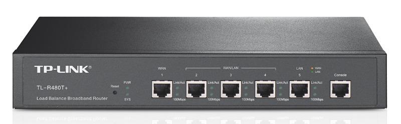 Роутер TP-Link TL-R480T+ 10/100BASE-TX