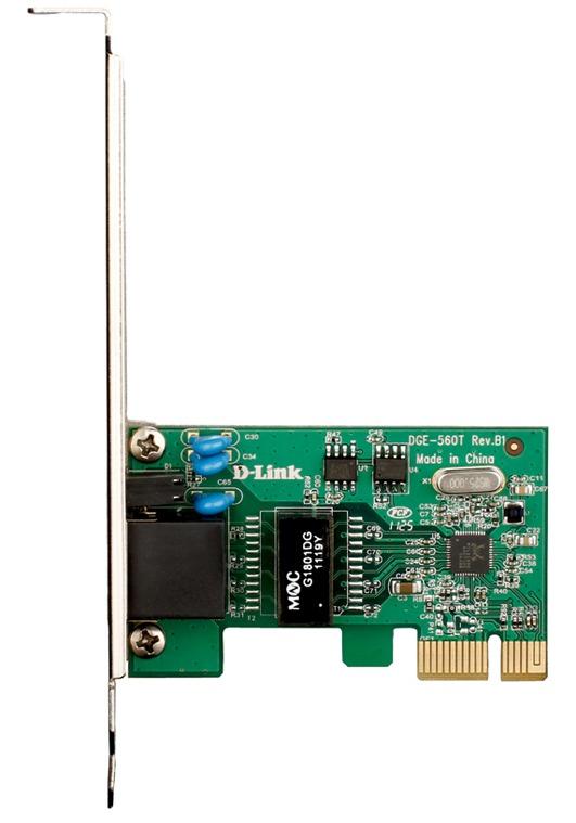Сетевой адаптер Gigabit Ethernet D-Link DGE-560T DGE-560T/C PCI Express