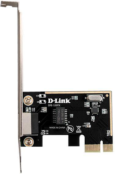Сетевой адаптер Fast Ethernet D-Link DFE-530TX DFE-530TX/E1A PCI Express