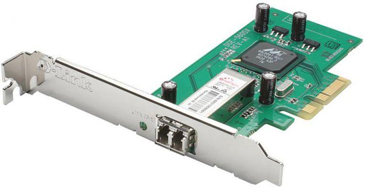 Сетевой адаптер Gigabit Ethernet D-Link DGE-560SX/D1A PCI Express x1