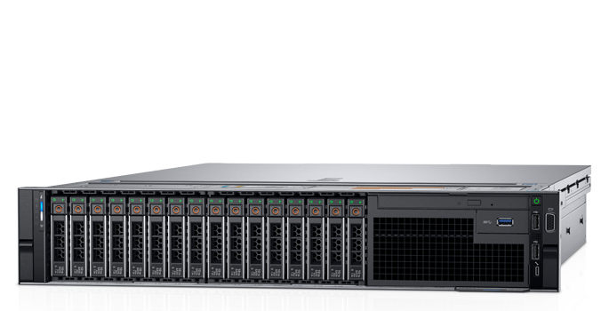 Сервер Dell PowerEdge R740 2x4116 12x64Gb x16 2.5