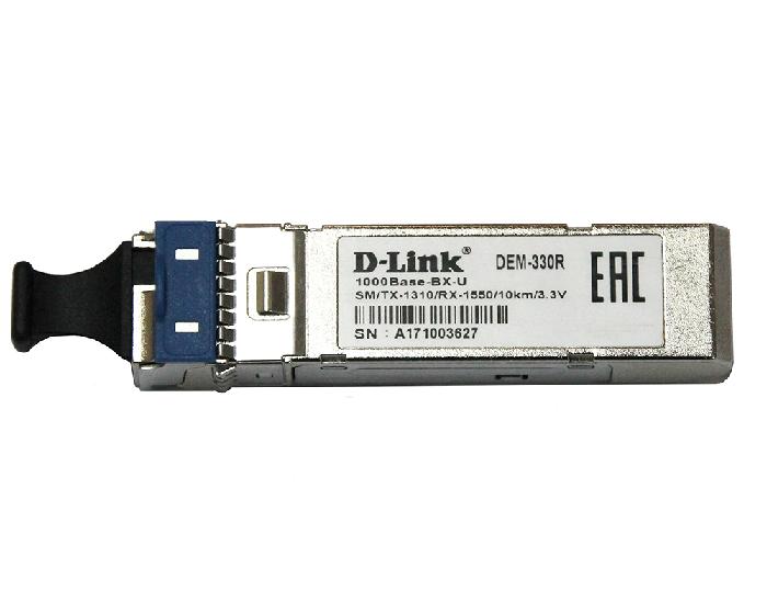 Трансивер D-Link 330R/3KM/A1A Симплексный SC (DEM-330R/3KM)