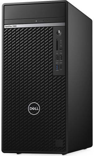 ПК Dell Optiplex 7080 MT i7 10700 (2.9)/16Gb/1Tb 7.2k/SSD256Gb/GTX1660 Super 6Gb/DVDRW/CR/Windows 10 Professional/GbitEt
