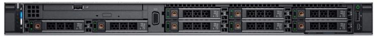 Сервер Dell PowerEdge R440 1x4210R 10x16Gb 2RRD x8 6x480Gb 2.5