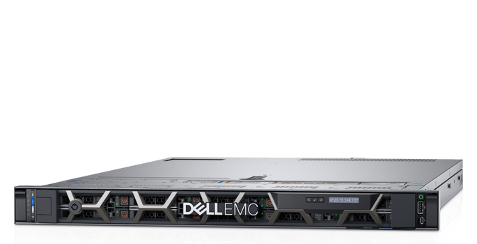 Сервер Dell PowerEdge R640 1x4210R 4x16Gb 2RRD x10 3x960Gb 2.5