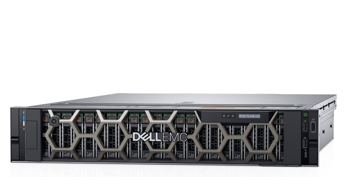 Сервер Dell PowerEdge R740xd 1x4214 1x16Gb x12 6x480Gb 2.5