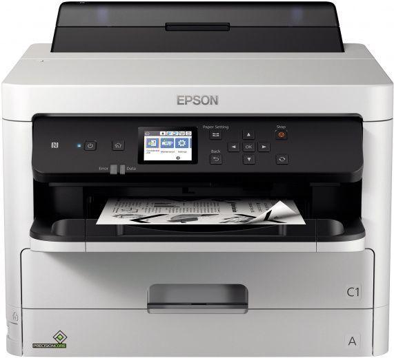 Принтер струйный Epson WorkForce Pro WF-M5299DW (C11CG07401) A4 Duplex Net WiFi USB RJ-45 черный