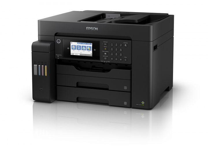 МФУ струйный Epson L15150 (C11CH72404) A3+ Duplex Net WiFi USB RJ-45 черный