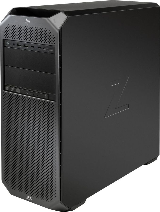 ПК HP Z6 G4 XeSi 4210 (2.2)/32Gb/SSD256Gb/DVDRW/CR/Windows 10 Workstation Plus Professional 64/GbitEth/1000W/клавиатура/