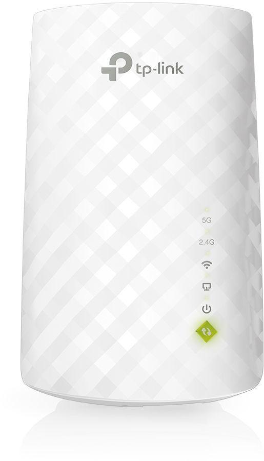 Повторитель беспроводного сигнала TP-Link RE220 AC750 10/100BASE-TX/Wi-Fi белый