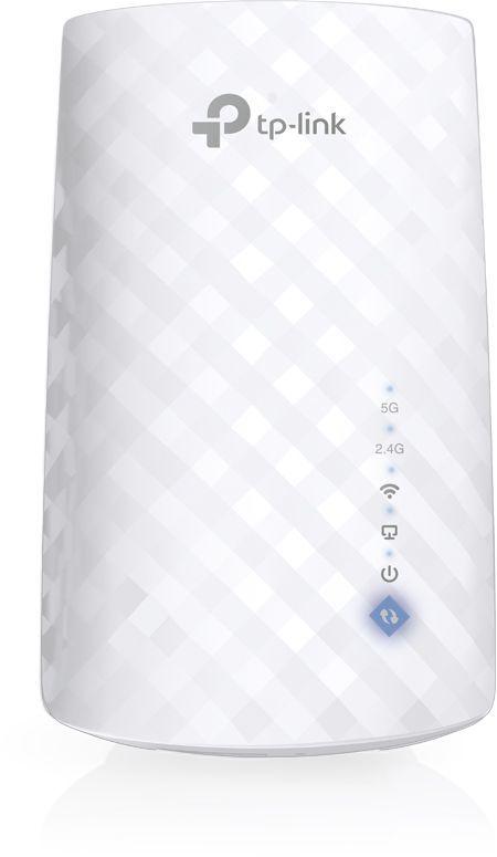 Повторитель беспроводного сигнала TP-Link RE190 AC750 Wi-Fi белый