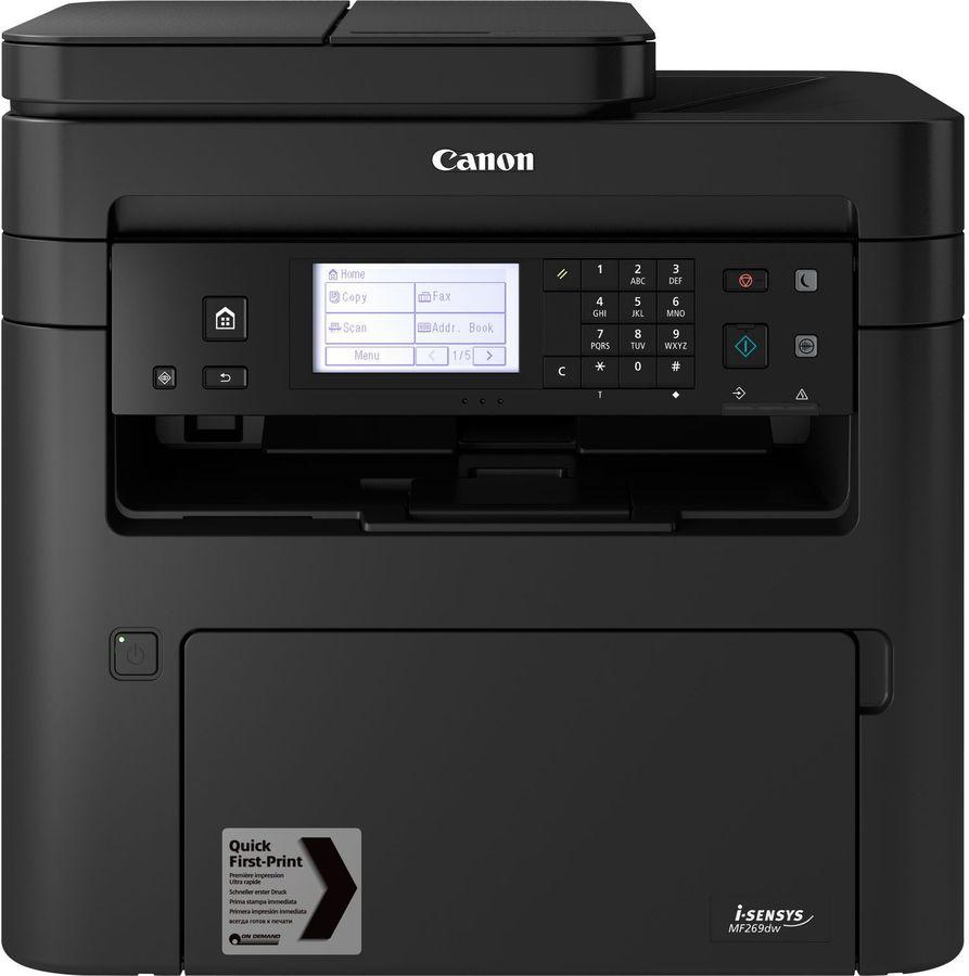МФУ лазерный Canon i-Sensys MF269dw (2925C063) A4 Duplex WiFi черный