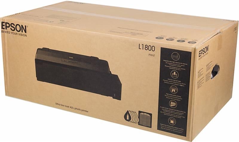 Принтер струйный Epson L1800 (C11CD82402)