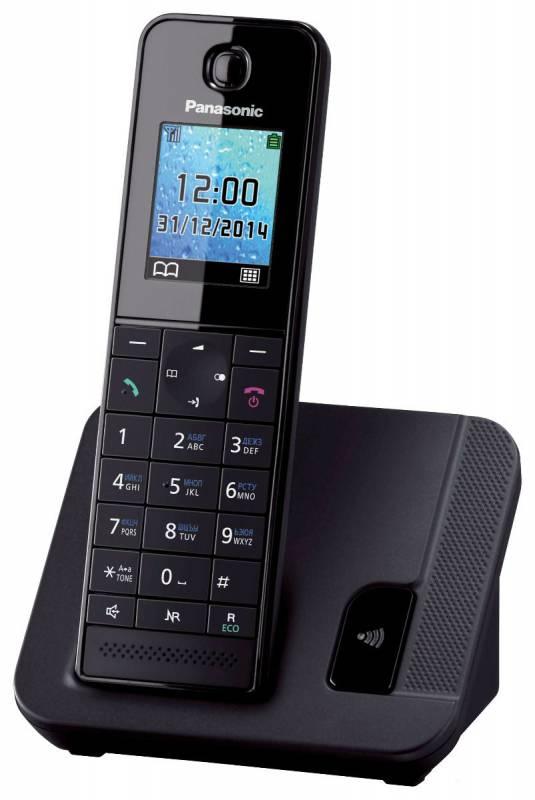 Р/Телефон Dect Panasonic KX-TGH210RUB черный АОН