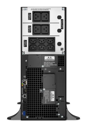 ИБП APC Smart-UPS SRT SRT6KXLI 6000W черный