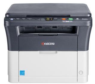 МФУ лазерный Kyocera FS-1020MFP (1102M43RU0 / 1102M43RUV) A4 серый/белый