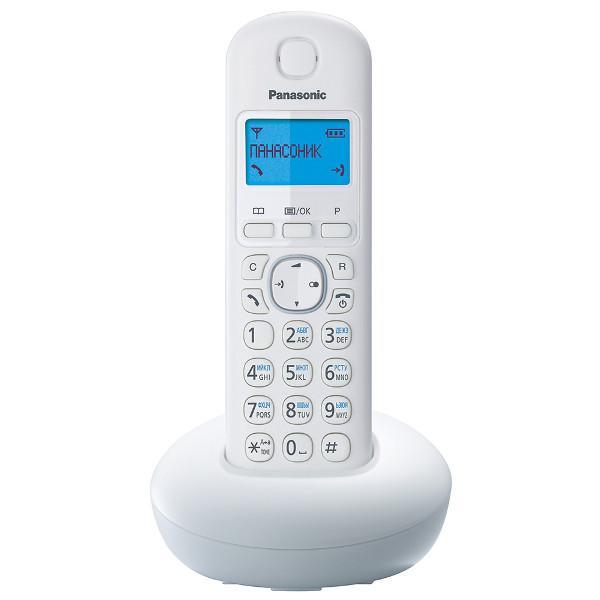 Р/Телефон Dect Panasonic KX-TGB210RUW белый АОН
