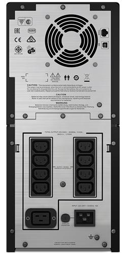 ИБП APC Smart-UPS C SMC3000I 3000VA черный