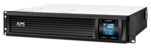 ИБП APC Smart-UPS C SMC3000RMI2U 2100Вт 3000ВА черный