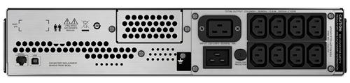 ИБП APC Smart-UPS C SMC3000RMI2U 3000VA черный